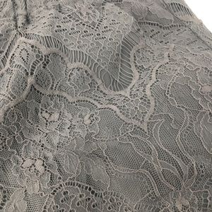 Divided Shorts - H&M Divided gray lace overlay shorts size M